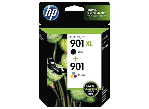 HP 901 XL + HP 901 Tri-color Multipack