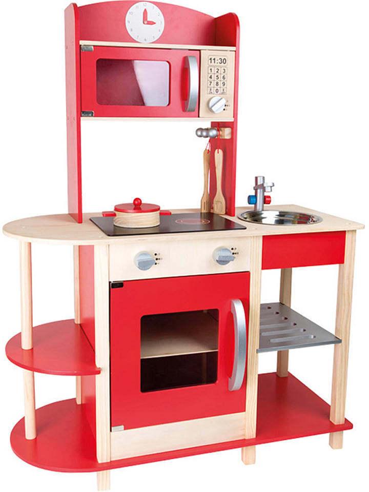 Kinderküche Spielküche Feinschmecker Small Foot Holz